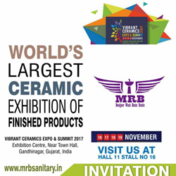 vibrant ceramics exhibition 2017 | INVITATION BY MRB